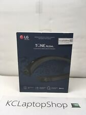 LG TONE Active HBS-a80 Bluetooth Headset - Black - IPX5 Water Resistant
