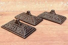 Lot fo three Rare Antique Vintage beautiful Design Cast Iron paper weight