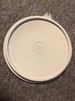 Tupperware Gray Vintage Replacement Lid ~ # 227-23 C