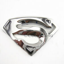 Superman 3D Metal ✓ Chrome Emblem Badge Logo Sticker for Car SUV: Sports
