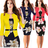 Elegant Womens Summer Office Work Cooktail Evening Party Tunic OL Pencil Dress