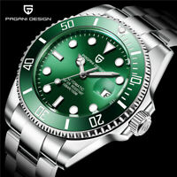 PAGANI DESIGN Automatic Auto Date Luxury Waterproof Business Mechanical Watch