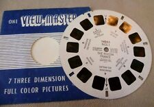 Vintage Viewmaster - Sawyer's Single Reel 1424-A Nice I The Riviera France 1956