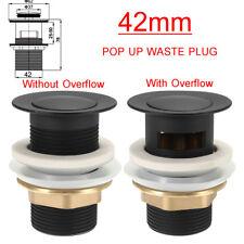 Drain Without Overflow 8sd017 Black Oil Brass Pop Up Bathroom Sink Basin Waste
