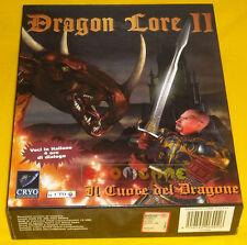 DRAGON LORE II 2 Pc Versione Ufficiale Italiana Big Box »»»»» COMPLETO