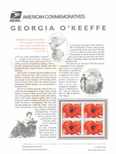 #486 32c Georgia O'Keefe #3069 USPS Commemorative Stamp Panel