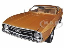 1971 FORD MUSTANG SPORTSROOF BROWN 1/18 DIECAST MODEL CAR SUNSTAR 3619
