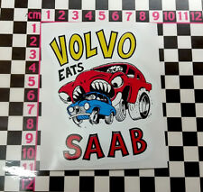 Funny Volvo Sticker - P1800 Amazon 142 144 145 122 P1900
