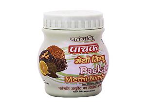 Indian Ayurveda Patanjali PACHAK METHI NIMBU 100 gm
