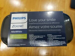 Philips Zoom! NiteWhite Tooth Whitening Gel, Exp 2021-07, Brand New Sealed