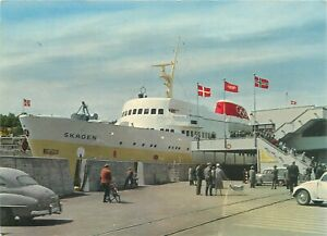Norway ferry crossing between Kristiansand S - Skagen postcard