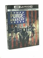 Purge: Anarchy, The (4K Ultra HD+Blu-ray+Digital, 2018) NEW w/ Slipcover
