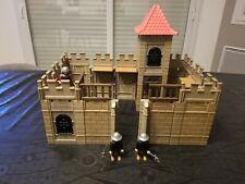 Playmobil château fort médiéval,  moyen âge,  vintage ancien