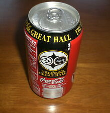STEELERS COCA COLA COKE HEINZ FIELD GREAT HALL CAN