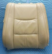 2003-2006 LEXUS GX470 Front Passenger Seat Upper Cushion Tan Leather OEM