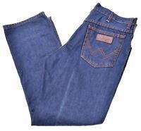 WRANGLER Mens Jeans W36 L30 Blue Cotton Straight Texas CB03