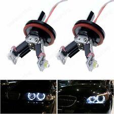 BMW LED Angel Eyes H8 12W Blanc E60 E61 E63 E64 E82 E87 E90 E91 E92 E93 X5 X6 Z4