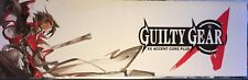 """Guilty Gear XX Accent Core Plus Arcade Marquee 26"""" x 8"""""""