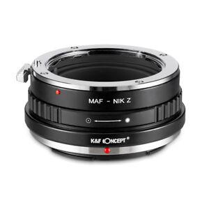 New K&F Concept adapter for Minolta AF MAF mount lens to Nikon Z6 Z7 camera