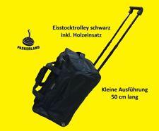 Eisstock Trolley klein, Farbe schwarz für Eisstock, Tasche, top Qualität!