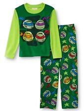Teenage Mutant Ninja Turtles Pajamas Boy's 8 NeW Fleece Shirt Pants Pjs Set NWT