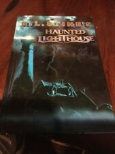 R L Stines Haunted Lighthouse  Hardcover Near New Condition