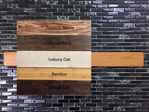"""Hardwood Flooring Magnetic Knife Rack/Holder - 2.5""""(H) x 8"""", 12"""", 18"""", 24"""" (W)"""