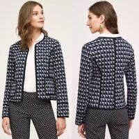 ANTHROPOLOGIE NWT $118 Hei Hei Vala Quilted Textured Jacket Top Size Large
