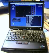 IBM ThinkPad X31, 2GB RAM + 32GB SSD (SATA, NOT IDE) w/ charger (no battery)