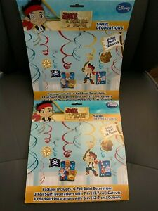 New Jake and The Neverland Pirates Birthday Party Supplies Tableware & Balloons