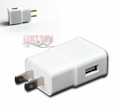 100X USB HOME WALL ADAPTER POWER CHARGER 2A WHITE GALAXY TAB 7.7 NOTE S4 CAMERA