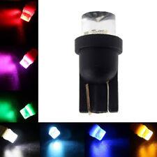 10x W5W T10 194 168 501 LED Multi-color Red Green Blue Flash Car Light Bulbs Hot