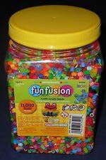 Perler Bead ~11,000 Count Activity Beads Jar Multi-Mix Colors - Funfusion #17500