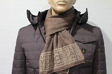 SET Sciarpa + Cappello Cuffia Versace Jeans Uomo Man Idea Regalo Natale Nuovo!!