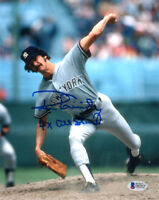 RON GUIDRY SIGNED 8x10 PHOTO + 4 x ALL STAR NEW YORK YANKEES LEGEND BECKETT BAS