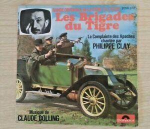 "ep 45 tours  B. O."" LES  BRIGADES DU  TIGRE "" Philippe CLAY "" POLYDOR 2056 378"