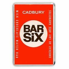 RETRO CADBURY'S BAR SIX CHOCOLATE WRAPPER-JUMBO COLOUR Fridge Magnet