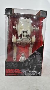Star Wars The Black Series Imperial AT-ST Walker and Driver Action Figure