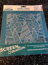 Screen Sensation Funky Trees Mesh Screen Design