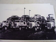 1940 PLYMOUTH  NEW CARS ON CARRIER  11 X 17  PHOTO  PICTURE