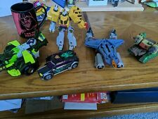 Transformers Lot of 6 Missing Pieces. Use For Parts