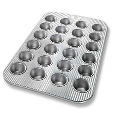 USA Pan Bakeware Aluminized Steel 24 Cup Mini Muffin Pan