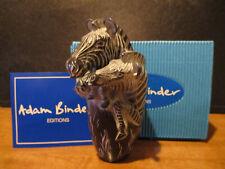 Harmony Kingdom Artist Adam Binder Zebra Crossing Special Moments Series Sgn