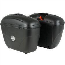 GIVI SADDLEBAG SET E21  MONOKEY MATTE BLACK LIDS LEFT & RIGHT