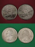 2000 D P New Hampshire State Quarters From BU Mint Sets Combined Shipping
