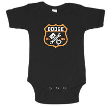Dodge baby tee infant one piece newborn baby t-shirt cute Dodge shirt for baby