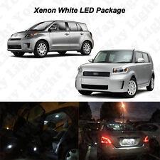 6 x White LED Interior Bulbs + License Plate Lights For 2008-2015 Scion xB xD