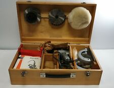 Vintage Black & Decker Power Tool Drill In Wooden Case