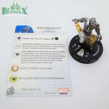 Heroclix Iron Man 3 Movie set Iron Man MK 40 #014 Gravity Feed figure w/card!