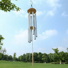47' 6 Tubes Windchime Chapel Bells Wind Chimes Door Hanging Home Decor Us